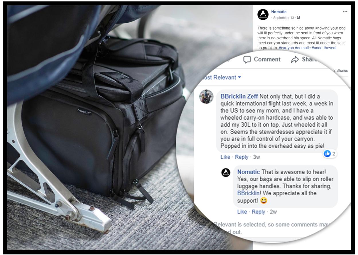 social media post by nomadic